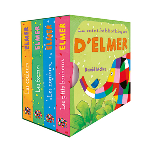 La mini-bibliothèque d'Elmer