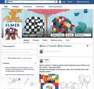 Elmer a désormais sa page Facebook !