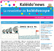 Kaléido'news – janvier 2015