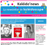 Kaléido'news – avril 2016
