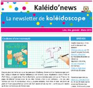 Kaléido'news - mars 2015