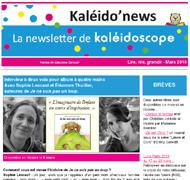 Kaléido'news – mars 2016