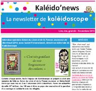 Kaléido'news – novembre 2015