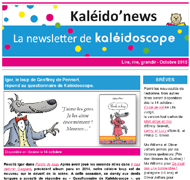 Kaléido'news – octobre 2015