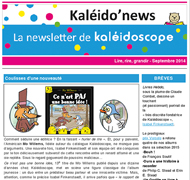 Kaléido'news - septembre 2014