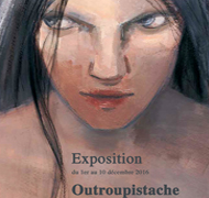 Exposition des originaux d'Outroupistache d'Elsa Oriol