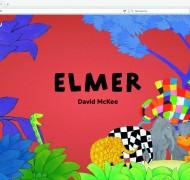 Un site dédié à Elmer et une page Facebook