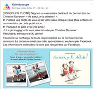 Concours de photo sur Facebook jusqu'au 30 janvier