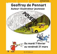 Exposition Geoffroy de Pennart à Epernay du 7 février au 31 mars