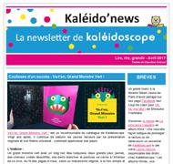 Kaléido'news – avril 2017