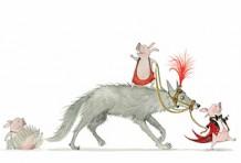 Le loup ne nous mangera pas – tout carton