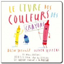 Le livre des couleurs des crayons