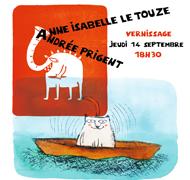 Exposition Andrée Prigent et Anne-Isabelle Le Touzé