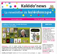 Kaléido'news – septembre 2017