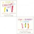 Le livre des couleurs des crayons / Le livre des nombres des crayons