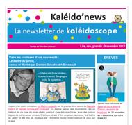 Kaléido'news – novembre 2017