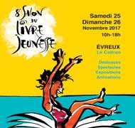 Marianne Barcilon sera au Salon du livre jeunesse d'EVREUX du 24 au 26 novembre