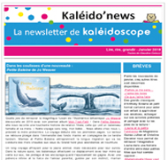 Kaléido'news – janvier 2018