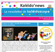Kaléido'news – mai 2018
