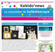 Kaléido'news – août 2018