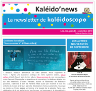 Kaléido'news - septembre 2018