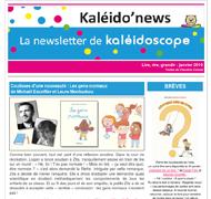 Kaléido'news – janvier 2019