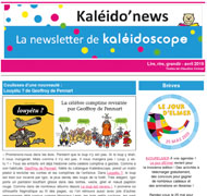 Kaléido'news – avril 2019