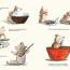 Illustration extraite de Histoire de chocolat, © Kaléidoscope 2019