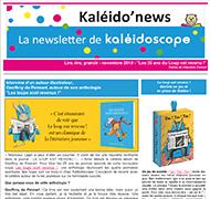 Kaléido'news – novembre 2019 – les 25 ans du Loup est revenu !
