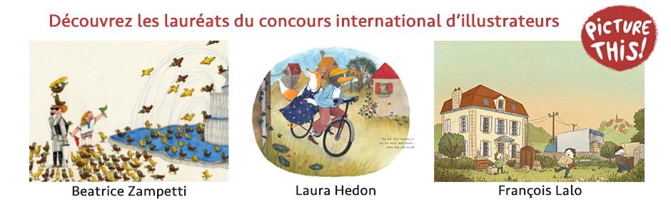 Les lauréats de notre concours international d'illustrateurs