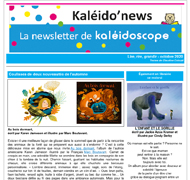 Kaleido'news octobre 2020