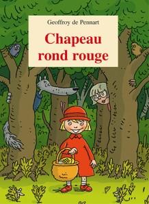 Chapeau rond rouge