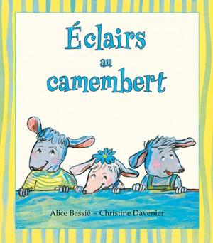 Eclairs au camembert