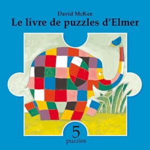 Livre de puzzles d'Elmer (Le)
