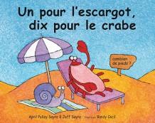 Un pour l'escargot, dix pour le crabe