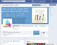 La page Facebook de Kaléidoscope